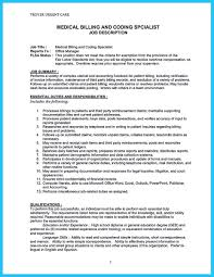 Medical Office Billing Manager Job Description Nice Exciting Billing Specialist Resume That Brings The Job
