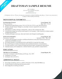 Drafting Resume Examples Best Draftsman Resume Sample Cad Draftsman Resume Draughtsman Cv Sample