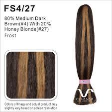 Fs4 27 Color Chart H H Kinky Bulk Vivica Fox Hair Collection