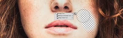 the eraser tool in photo