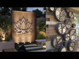 beautiful outdoor wall decoration ideas