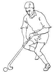 Veldhockey Spelen Kleurplaat Gratis Kleurplaten Printen