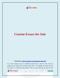 essay custome essay