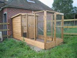 diy outdoor dog pen
