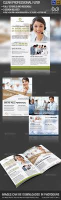 best ideas about advertising flyers photography clean professional flyer set