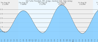 Tide Chart Hereford Inlet Nj Old Turtle Thorofare Hereford Inlet Nj Tides