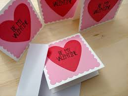 Be My Valentine Cards Mini Note Cards With Envelopes Love