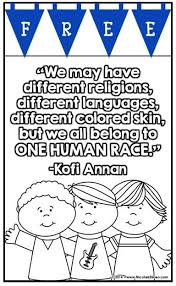 They can then practice color recognition by finding a crayon. Multicultural Coloring Pages And Activities