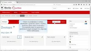 E Portfolio Sustav Mahara 16 04 Izrada Zivotopisa Youtube