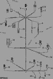 2320 john deere lawn mower wiring diagram wiring diagram and ebooks • wiring harness front half tractor compact utility john deere rh 777parts net john deere 116 electrical
