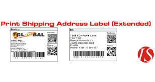 how to print a shipping label opencart print shipping address label extended for v1 5 2 x vqmod