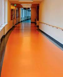 vinyl flooring commercial matte colored concrete look acousto 340 380 responsive