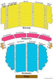 Orpheum Theatre Los Angeles Seating Chart