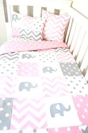 pink and gray crib bedding full size of nursery and black elephant crib bedding in conjunction