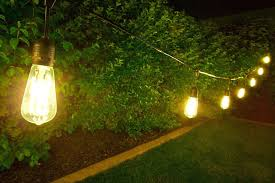 outdoor string lights vintage led commercial grade pendant