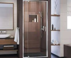 home and furniture beautiful swinging shower door at pivot hinged doors showers the home depot