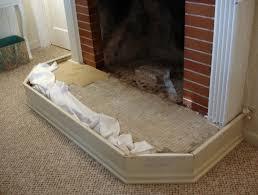 diy fireplace hearth pad