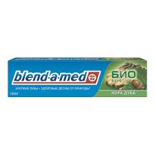 <b>Зубная паста Blend</b>-a-<b>med</b> БИО фтор <b>Кора</b> дуба
