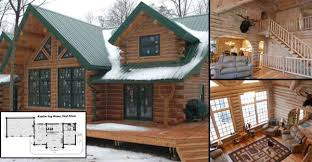 Small Picture Splendid Log Home for 56000 Must See Interior and Floor Plans