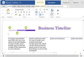 it project timeline business project timeline template for word online