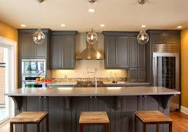 40 Warm And Grey Kitchen Cabinets Home Design Lover Enchanting Atlanta Kitchen Designers