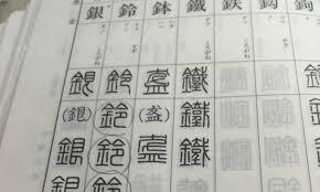 鈴印オリジナル印鑑書体sk印相体まとめ 鈴印ブログ