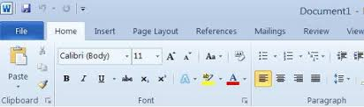 An Introduction To Microsoft Word 2010 Universalclass