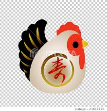 new year s parts rooster figurines