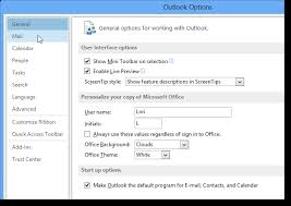 How To Assign A Default Signature In Outlook 2013