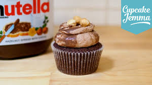 Quick Nutella Icing Recipe How To Make Nutella Cupcakes Cupcake Jemma Youtube