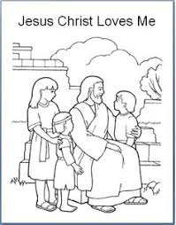 Coloring Pages Jesus Loves Me Page You Heart Chronicles Network