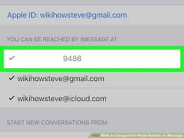 How To Change Your Phone Number How To Change Your Phone Number On Imessage 13 Steps