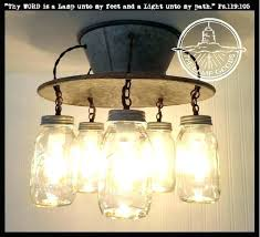 mason jar ceiling light mason jar ceiling light an exclusive lamp goods mason jar light 5 mason jar