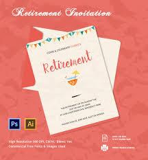 005 Beautiful Retirement Party Invitation Template Free