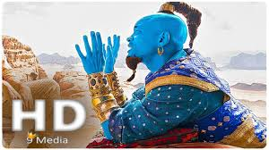 Aladdin Genie First Look 2019 Will Smith New Disney Live Action Movies Hd