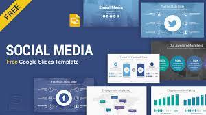 Google Slide Template Download Social Media Free Google Slides Template Themes Slidesalad