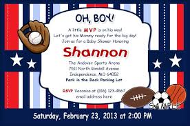 Baby Shower Invitations Wording Page 1  Sports Themed Baby Shower Baby Shower Invitations Sports Theme