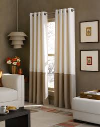 Living Room Curtain Panels Black Out Curtains Kendall Color Block Grommet Curtain Panel
