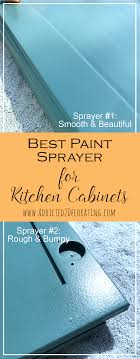 best paint sprayer for kitchen cabinets wagner flexio vs critter v