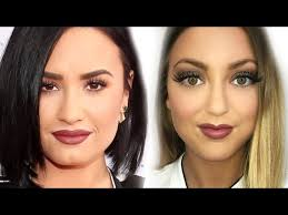 demi lovato makeup tutorial heart daily