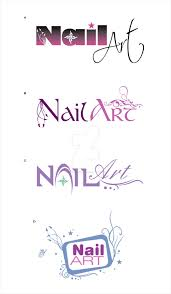 Nail Art Logo Options by pixelstudioct on DeviantArt