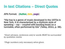Apa Quote Citation Classy Quotes How To Cite A Quote From A Website With No Author Apa