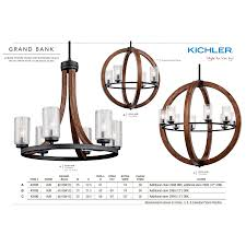 a large image of the kichler 43193 kichler grand bank collection