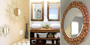 Diy mirror frame ideas Pinterest 16 Creative Diy Mirror Frame Ideas Diy Crafts 16 Creative Diy Mirror Frame Ideas Diys To Do