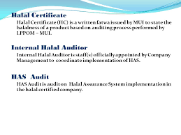Halal Certification And Halal Assurance System Ppt Video Online