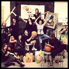 the 2nd annual pwat skippack team pumpkin carving is on