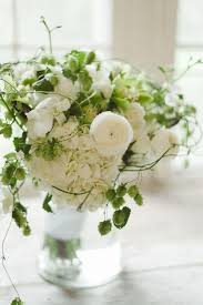 Lovely White Centerpieces