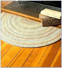 half circle bath rugs image of round area for kitchen semi rug circle bathroom rugs half