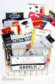 graduation gift basket with clever candy sayings soooooo cute