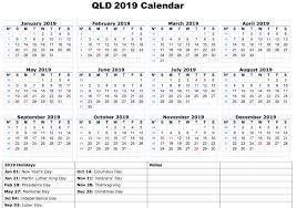Calendar 2019 Printable With Holidays Calendar 2019 Printable With Holidays Qld Printables Calendars